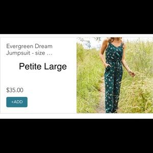 Evergreen Dream jumpsuit